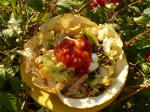 American Bean and Chicken Taco Salad Appetizer