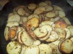American Garlicky Parsley Fried Potatoes Appetizer