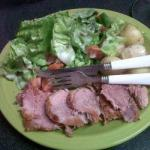 Ham Roast with Honeymustard Glaze From The Slowcooker recipe