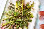 Canadian Barbecued Asparagus With Hazelnuts And Mint Recipe BBQ Grill