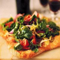 Canadian Salad Pizza Appetizer