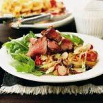 British Beef Fillet with Waldorf Salad Appetizer