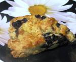 British Blueberry and Raspberry Scones Appetizer