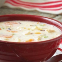 Canadian Creamy Chicken with Wild Rice Soup Soup