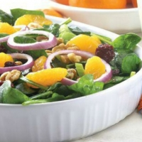 Italian Spinach Salad 1 Appetizer