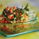 Armenian Salad of Bulgur Appetizer