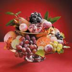 Canadian Sugared Fruit Centerpiece Dessert