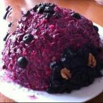 American Salad with Beetroot Rabbit with Wild Honey and Cheese Appetizer
