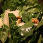 Canadian Spinach Salad with Pears Dessert