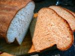 British Bread Machine Cracked Wheat  Flax Seed Bread Appetizer
