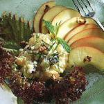 American Salad with Cottage Cheese and Pineapple Appetizer
