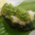 Cod in the Banana Leaf with Cooking Banana Puree on Brazilian Art recipe