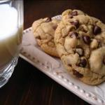 American Big Fat Chewy Chocolate Chip Cookies Dessert