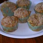 American Apple Crumble Muffins Dessert