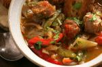 British Chorizo With Sweet Pepper And Onion Stew And Fried Croutons Recipe Dinner