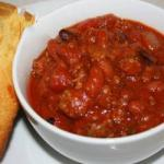 American Chili for Whole Man Appetizer