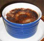 American Chocolate and Grand Marnier Creme Brulee Dessert