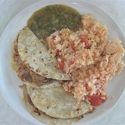 Mexican Chicken Taco Dinner