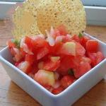 American Salsa of Fresh Tomatoes Appetizer