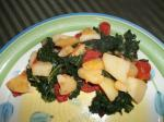 American Winter Greens and Potatoes 1 Appetizer