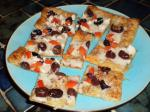 American White Pizza Appetizers puff Pastry Appetizer