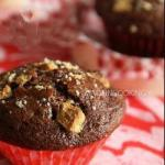 American Muffins in the Chocolate and Chocolate Nuggets White Dessert