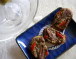 Italian Anchovy Crostini 1 Appetizer