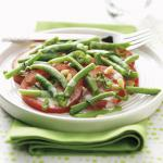 Canadian Savory Bean and Tomato Salad Appetizer