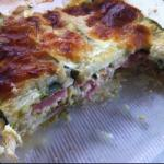 American Lasagna of Courgette Easy Appetizer