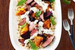 Canadian Lamb And Roasted Vegetable Salad With Tahini Dressing Recipe Breakfast