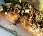 American Pistachio Crusted Salmon Dinner