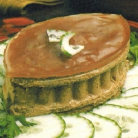 French Chicken Liver Pate De Luxe Appetizer