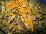 American Green Bean and Pearl Onion Casserole Appetizer