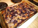 American Blueberry Bread Pudding 1 Dessert