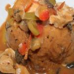 Canadian Chicken in Slow Cooker with Vegetables Appetizer