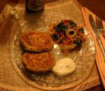 American Emaws Salmon Patty Project Appetizer
