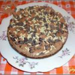 American Cheesecake with Chocolate no Oven Dessert