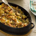 American Sausage and Corn Bread Dressing Appetizer