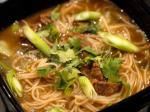 Chinese Chinese Cinnamon Beef Noodle Soup Soup