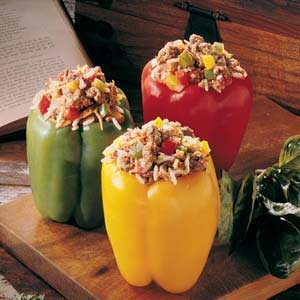 Canadian Summer Stuffed Peppers 1 Appetizer