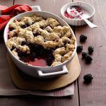 Canadian Summer Blackberry Cobbler Dessert