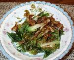 American Flash Fried Spinach or Escarole Appetizer