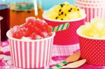 American Snow Cones With Mixedberry Syrup Recipe Dessert