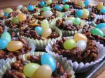 American Easter Nests With Jelly Bean Eggs peanut Free Dessert
