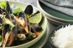 American Lemongrass and Chilli Mussels In A Fragrant Coconut Broth Recipe Soup