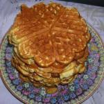 Australian Honey Waffles Dessert