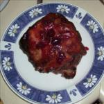 American Cranberry-glazed Roast Pork Dessert