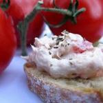 American Dip Apero Express to the Tuna and the Tomato Appetizer