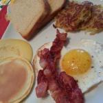 Australian Brunch in Bed Breakfast