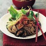 American Filet Mignon with Soba Appetizer